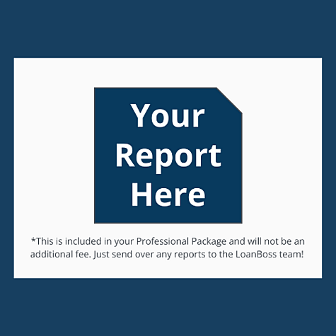 Custom Reports, LoanBoss can automate and replicate any internal report you need, fully customizable to your needs