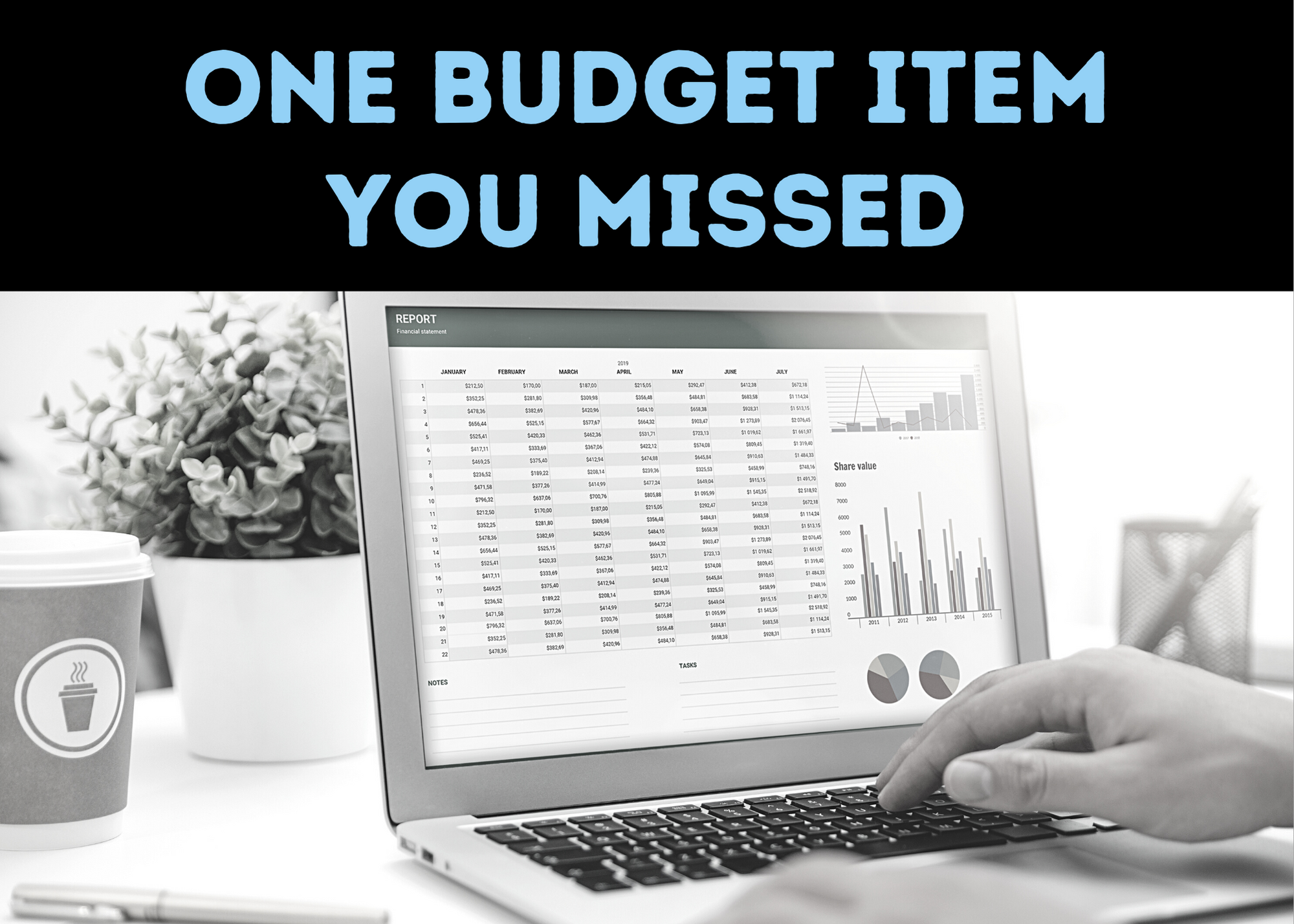 one budget item you may have missed is technology